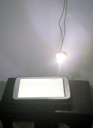 Matematikai inga mozgásának vizsgálata okostelefon fényszenzorának segítségével 3. – Kitérés szerepe