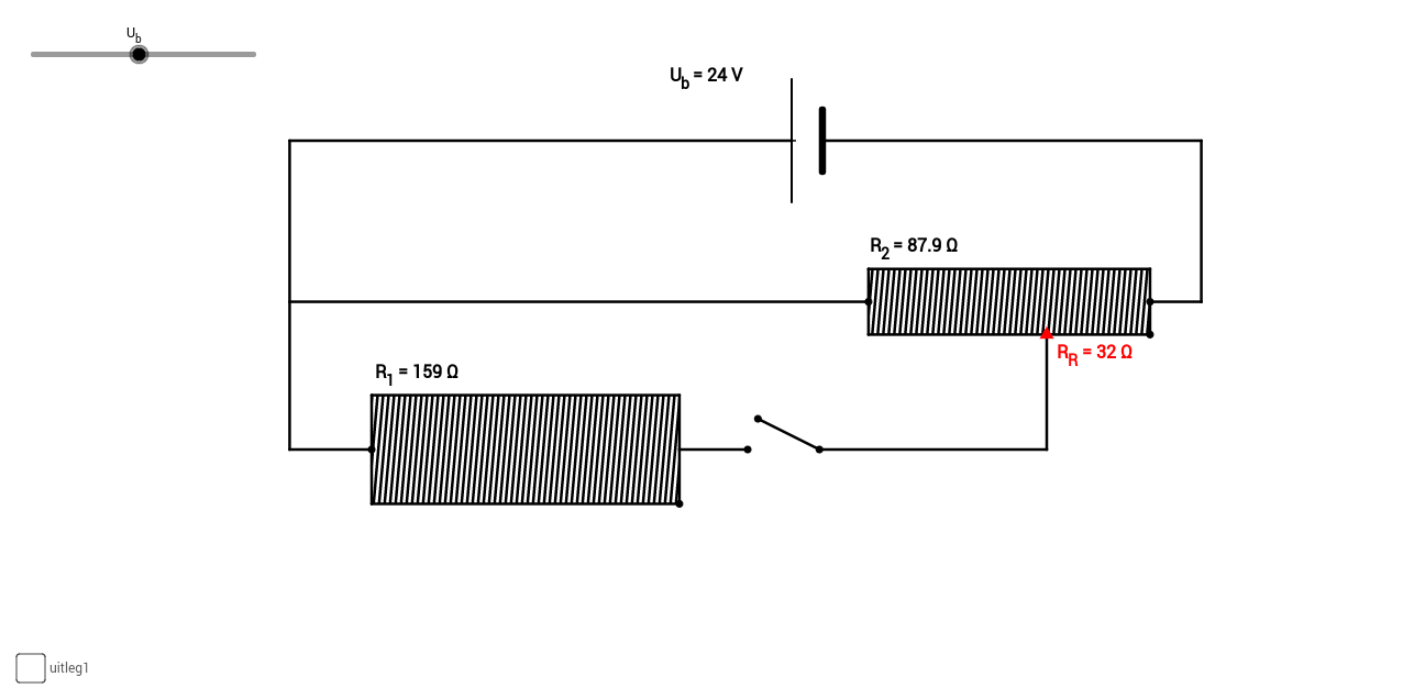 dividing a voltage with a shear resistance