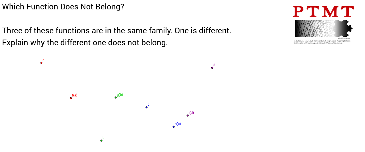 Function Families 3
