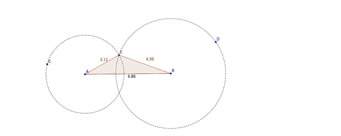Construir triángulos a partir de lados