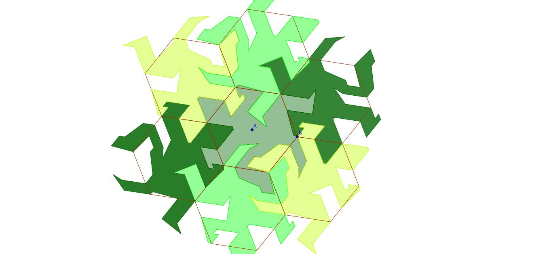 Lagarto de Escher
