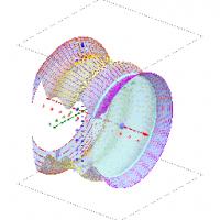 Rotationsvolumen_Kurvenschichtung mit Gogebra5