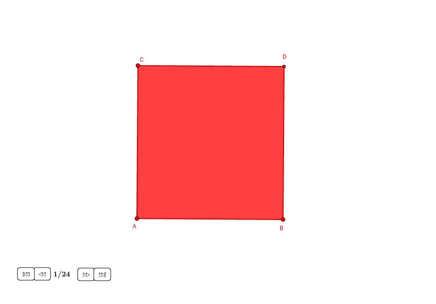 División geométrica de un rectángulo