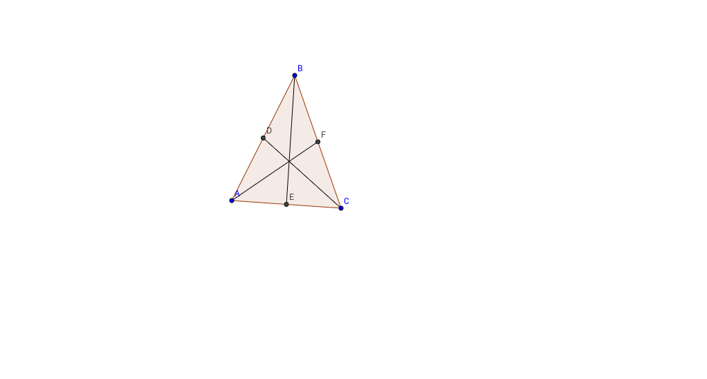 median of a triangle geogebra. Black Bedroom Furniture Sets. Home Design Ideas
