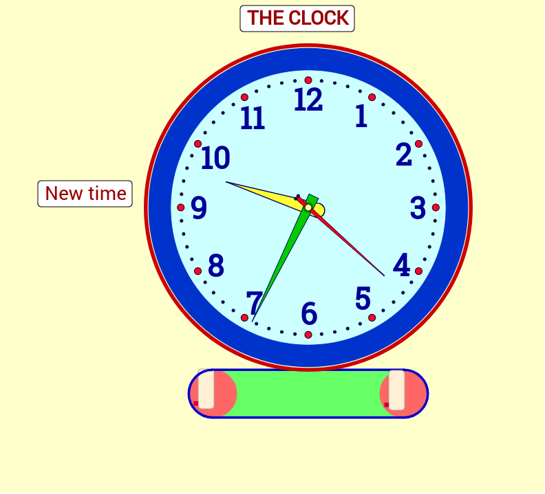 Clock Face Fraction - GeoGebraBook