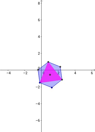 Пирамида, вписанная в шестиугольную призму