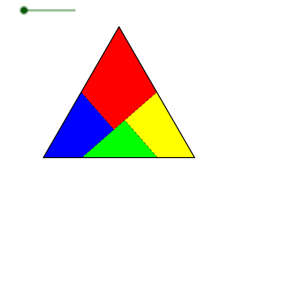 Equilateral triangle Square Dissection