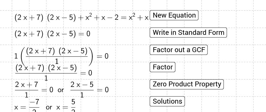 solving quadratic equations by factoring practice geogebra. Black Bedroom Furniture Sets. Home Design Ideas
