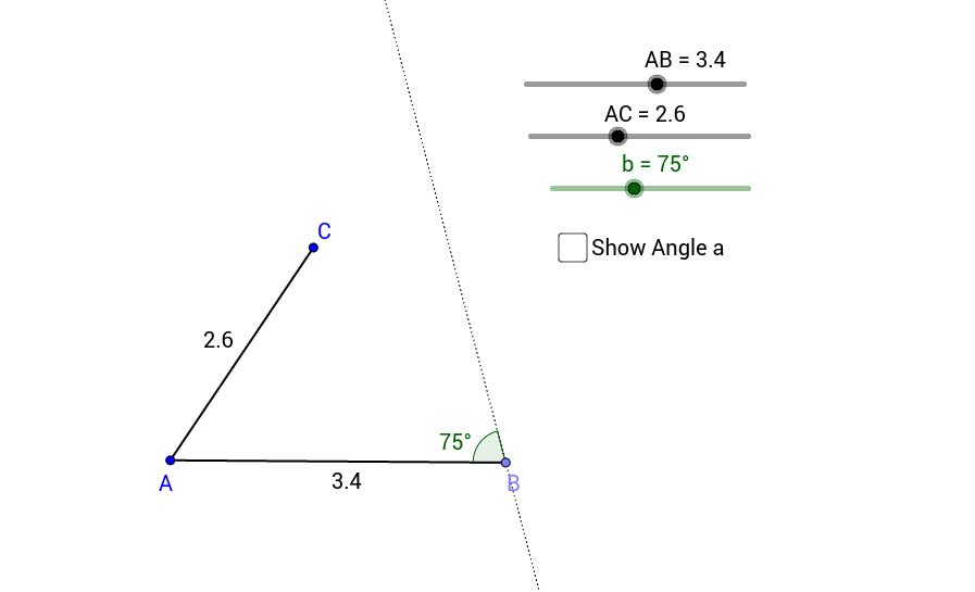 Triangle Congruence - SSA