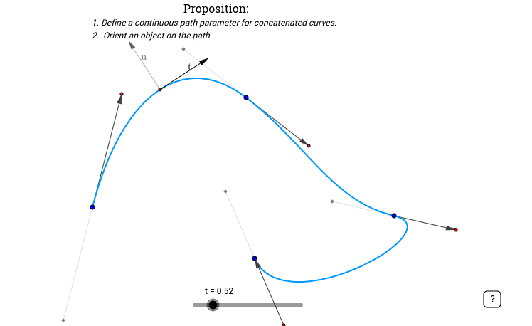 Bézier Curves 5: Continous Path