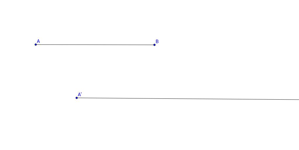 Copy a Line Segment