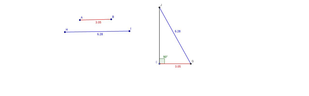 Reconstrucción de un triángulo por el caso LAL