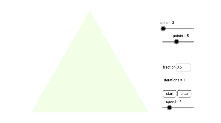 Chaos Game GeoGebra – Sierpinski Triangle Worksheet