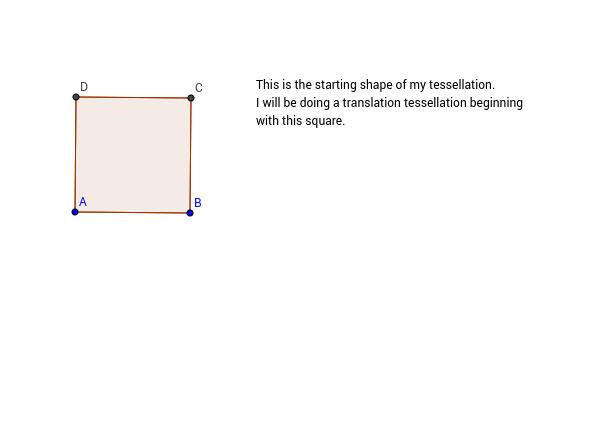 Tessellation #1 start