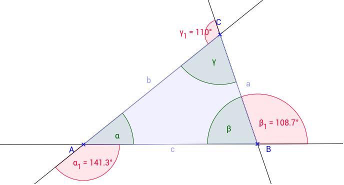 Old Fashioned Dreieck Außenwinkel Theorem Arbeitsblatt Motif ...