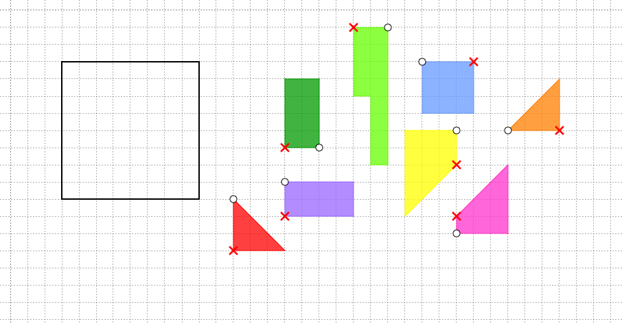 I nostri «tangram» (Andreea)