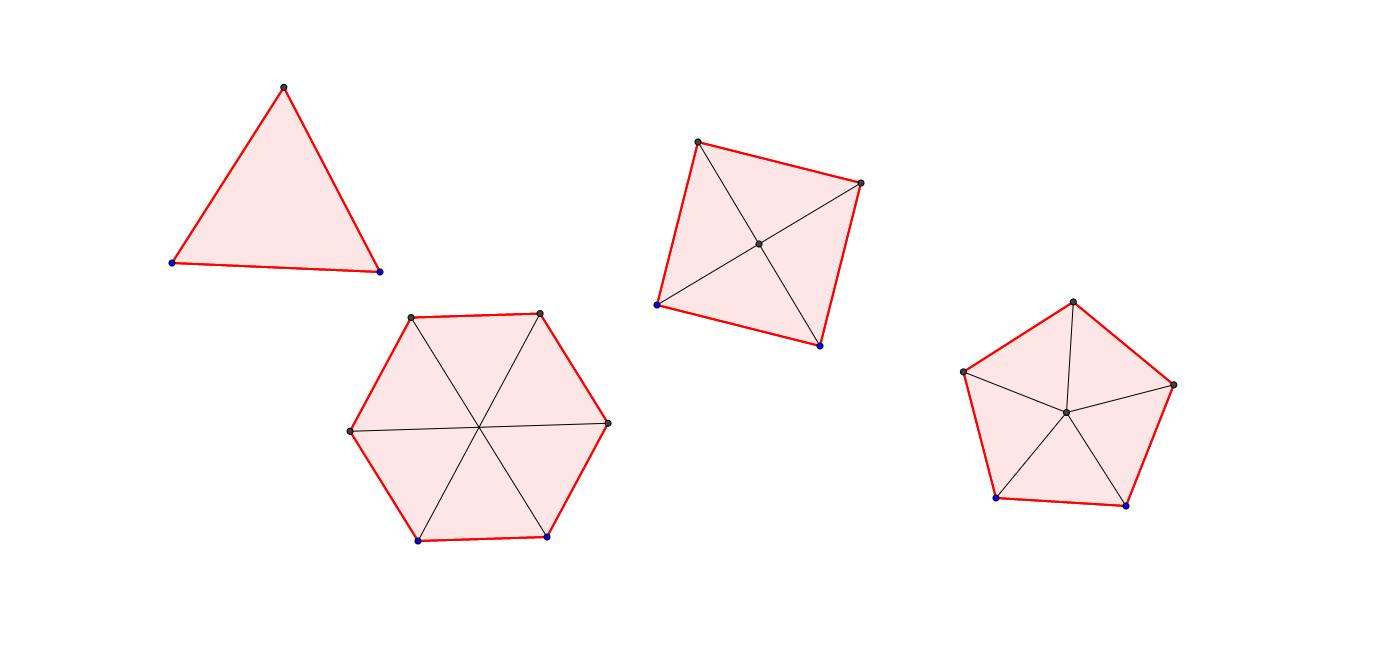 mb1 LU12 Regelmässige Vielecke : Fläche berechnen
