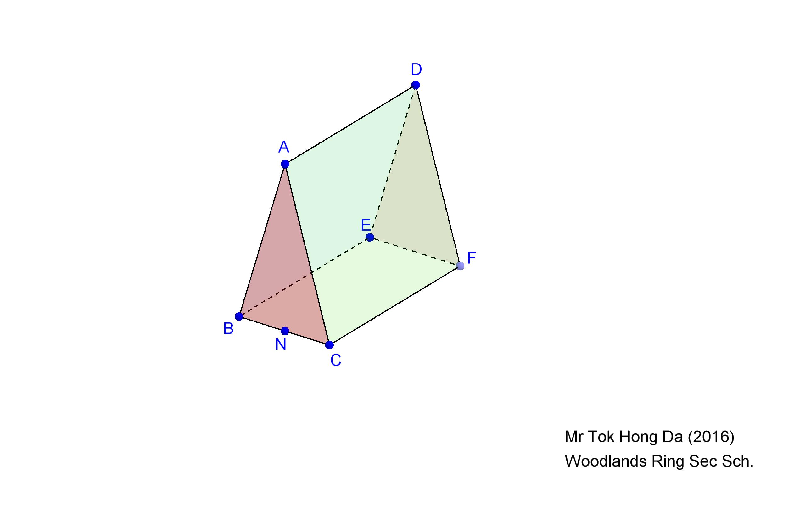 worksheet Surface Area Of A Triangular Prism Worksheet net and surface area of triangular prism geogebra view worksheet
