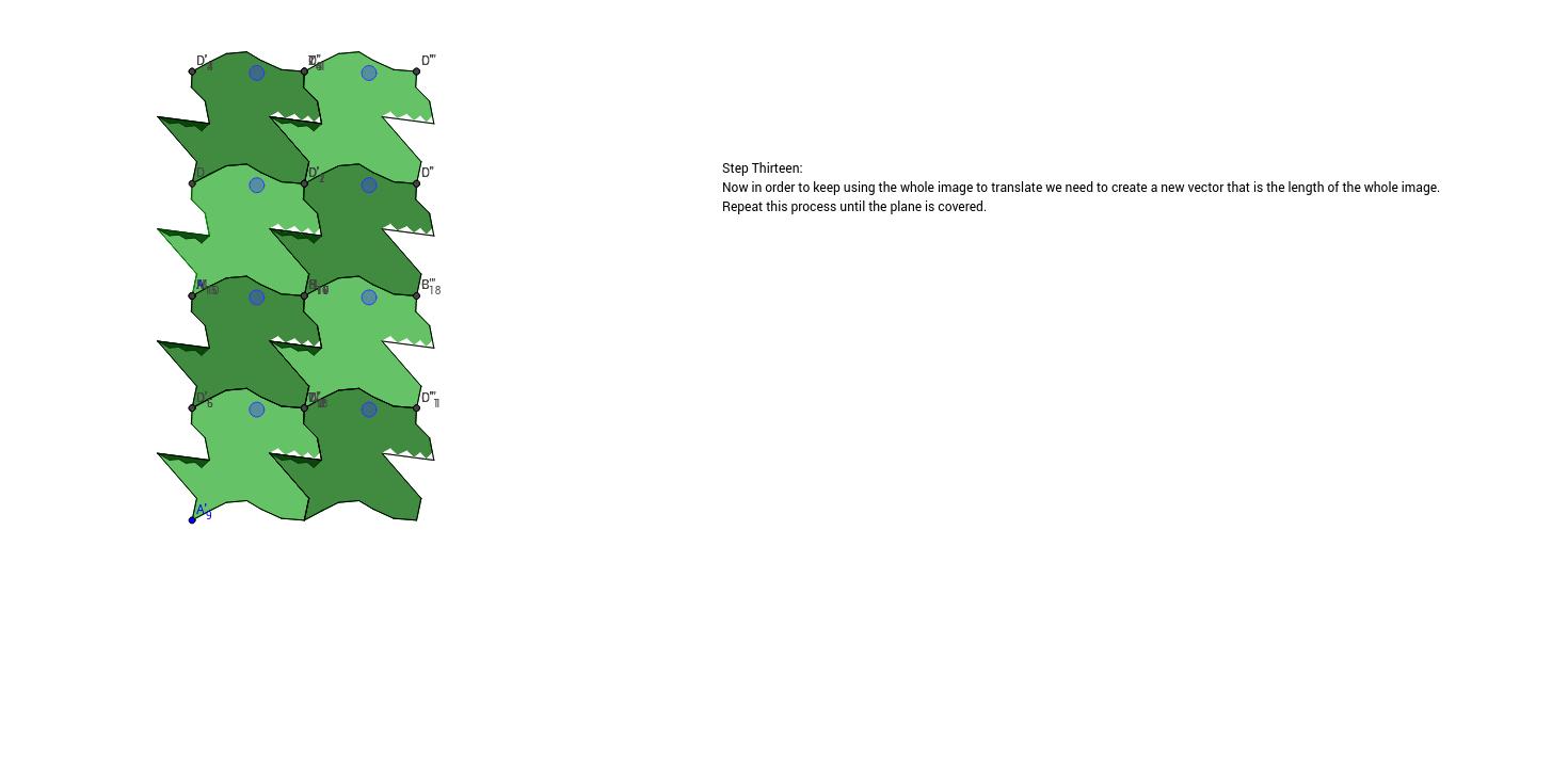 Translation Tessellation Step 13a
