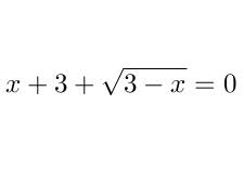 Másodfokúra visszavezethető gyökös egyenlet 3.