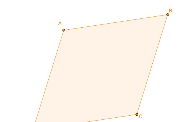 Quadrilateral 3 - Rhombus
