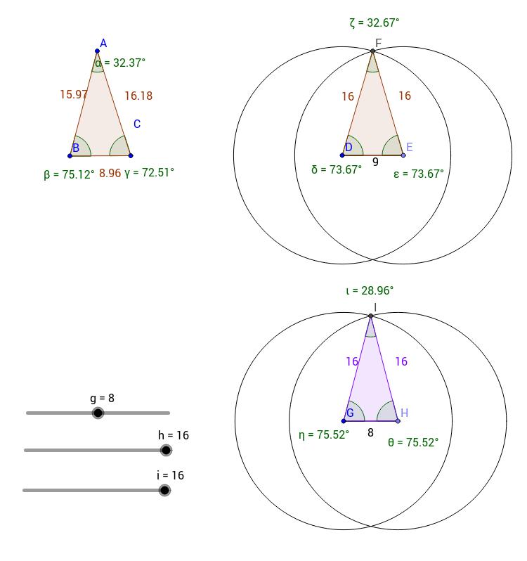 Isosceles Triangle - CB Act22-1