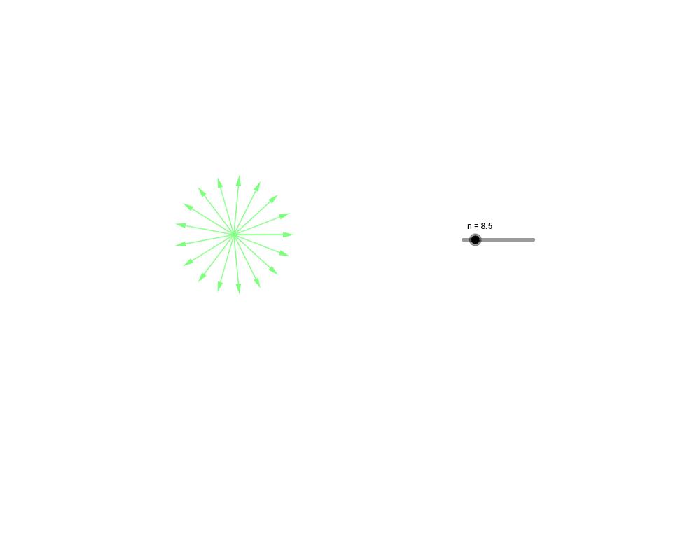 Secuencia de vectores -colores dinámicos