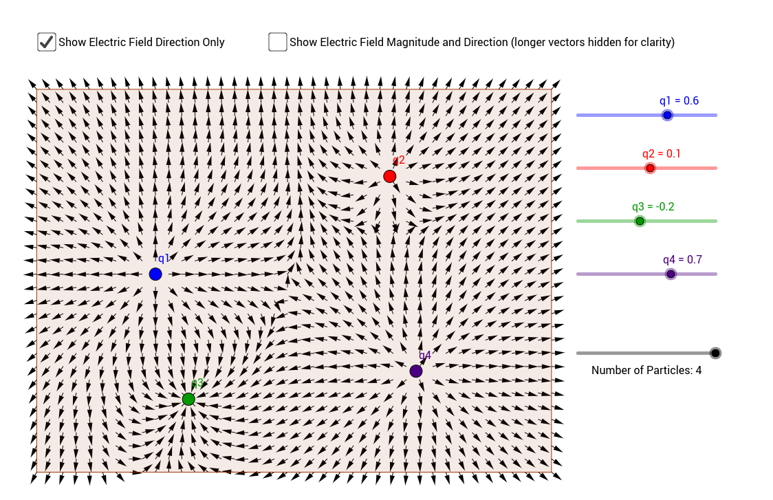 Electric Field Vector Field GeoGebra – Slope Fields Worksheet