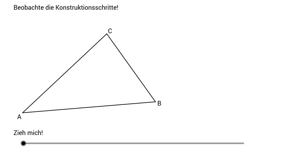 Inkreismittelpunkt konstruieren 1