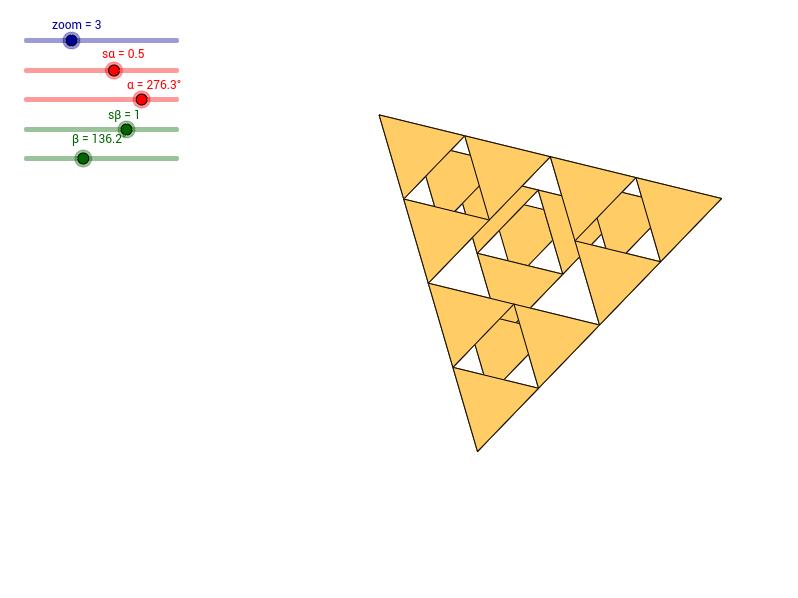 Piramida Sierpińskiego - 2