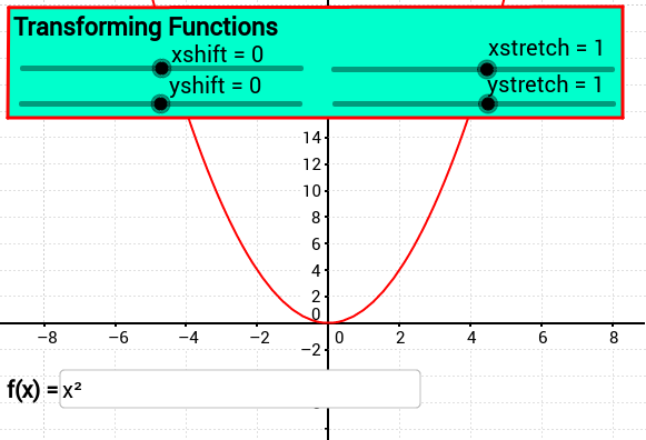 Transforming Functions (multiple transformations)