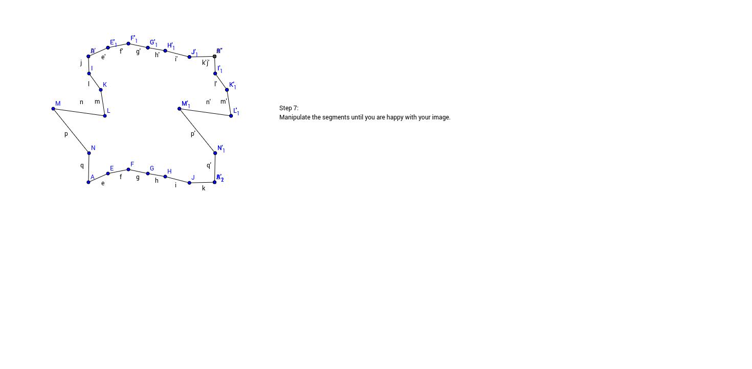 Translation Tessellation Step 7