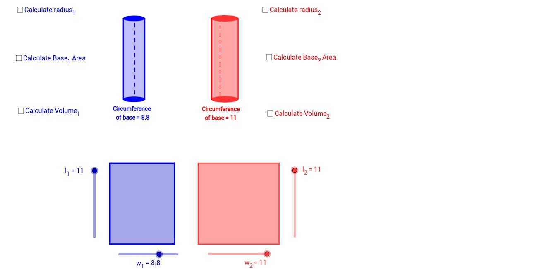 Copia de Cylinder Volumes
