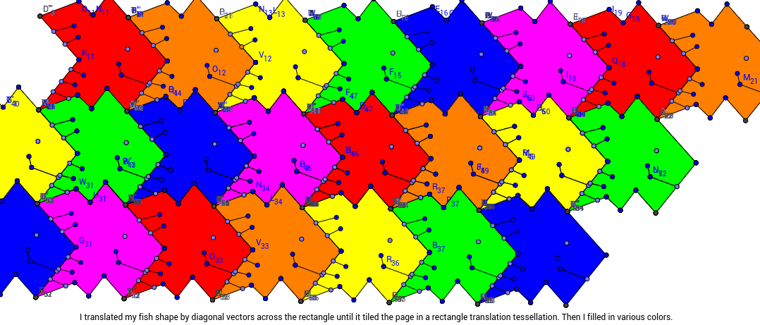 Emma Johnson Rectangle Tessellation 7