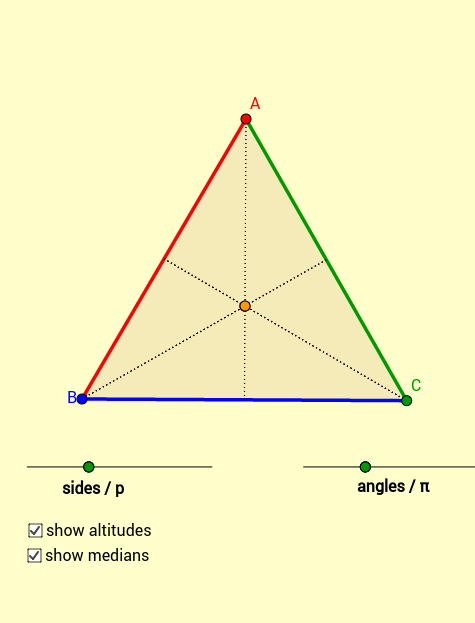 'EQUILATERAL-ness' of Triangles