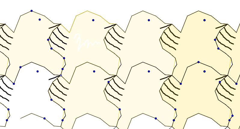 Tessellation Polygon 1d