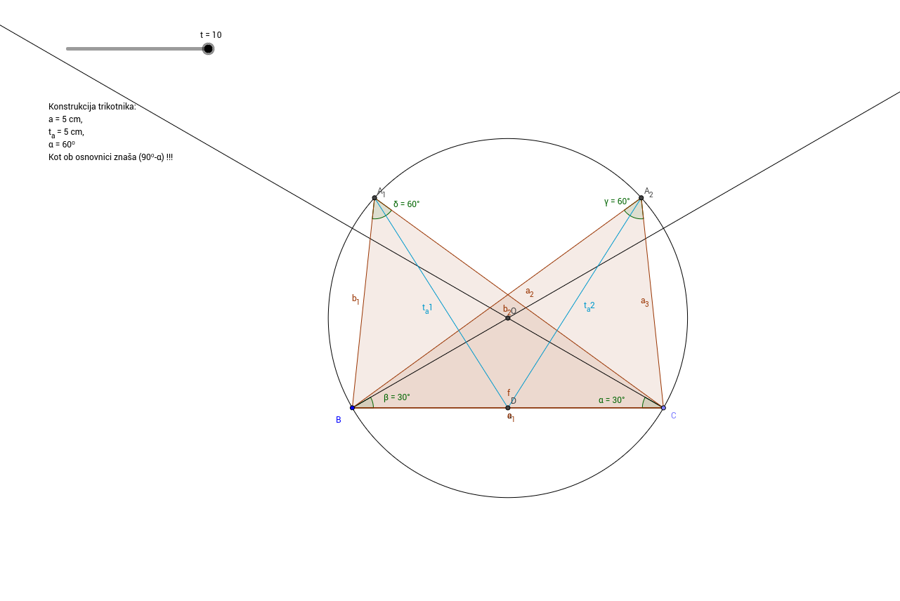Konstrukcija trikotnika
