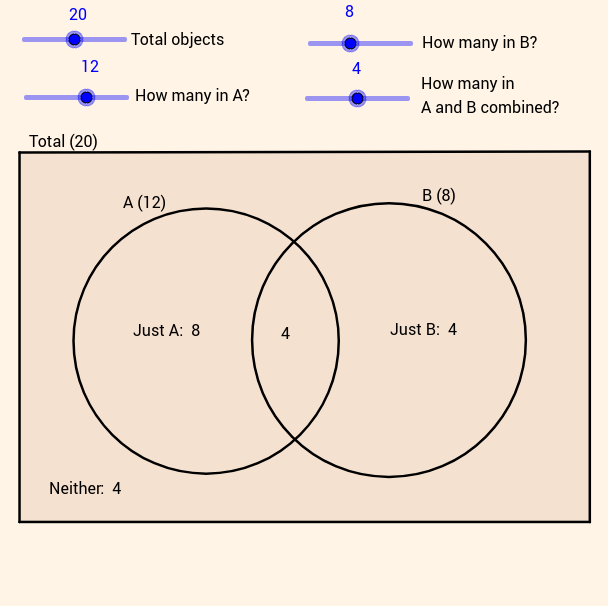 Venn diagram calculator geogebra venn diagram calculator ccuart Images