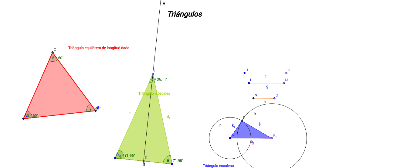 Recordatori Classificació de triangles alumnes primer cicle