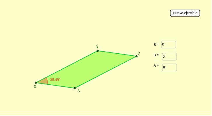 Ejercicios con paralelogramos – GeoGebra