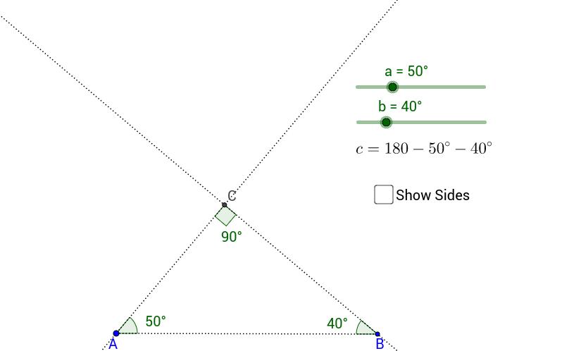 Triangle Congruence - AAA