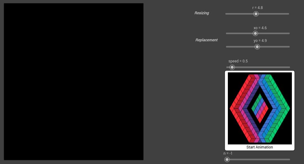 Vasarely Op-Art: Sans Titre (1)