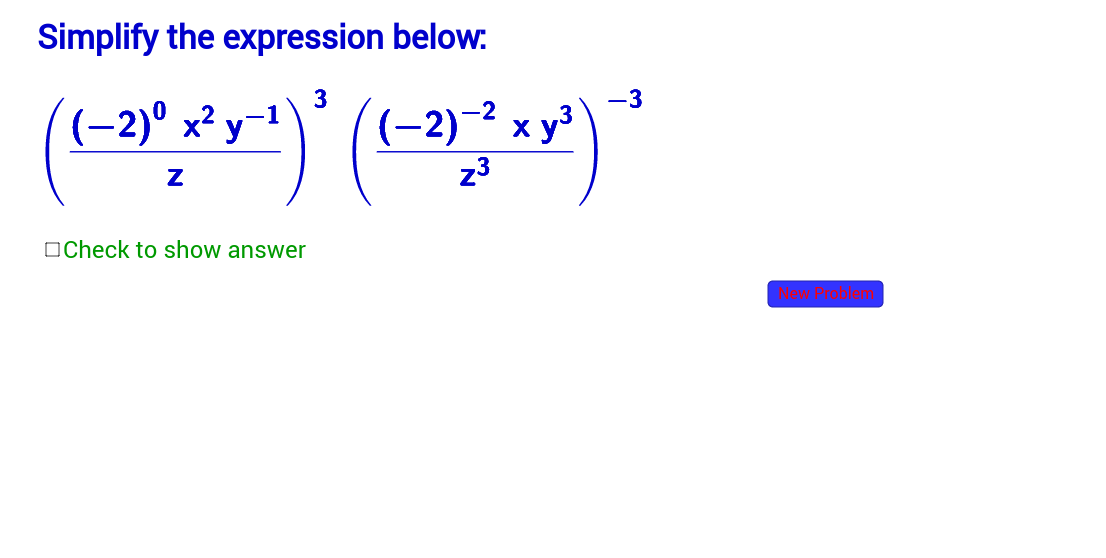 Simplify Expressions More ComplicatedSection 4243 GeoGebra – Simplifying Expressions with Exponents Worksheet