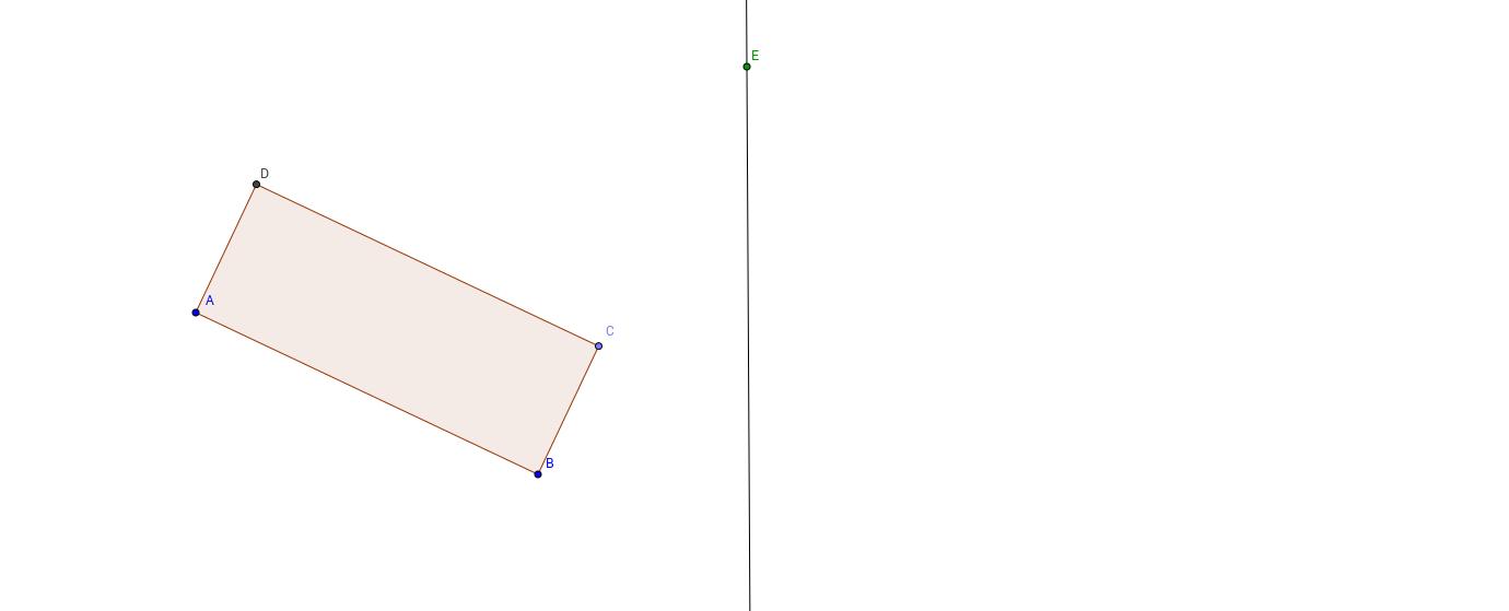 Speiling av rektangel