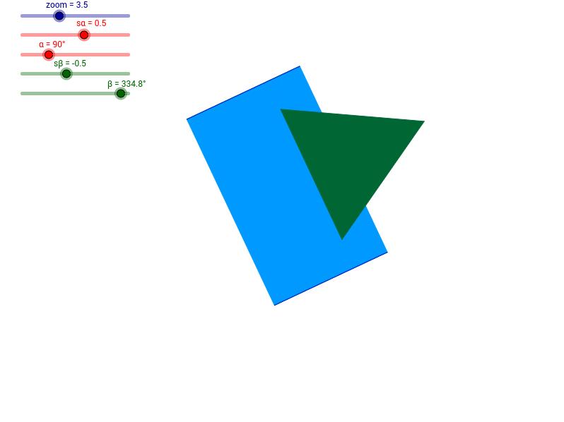 Dwa graniastosłupy prawidłowe trójkatne - 2