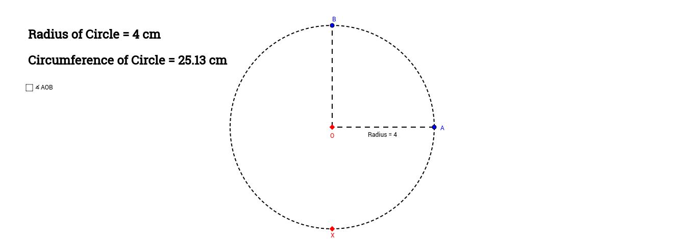Arc Lengths (Radians)