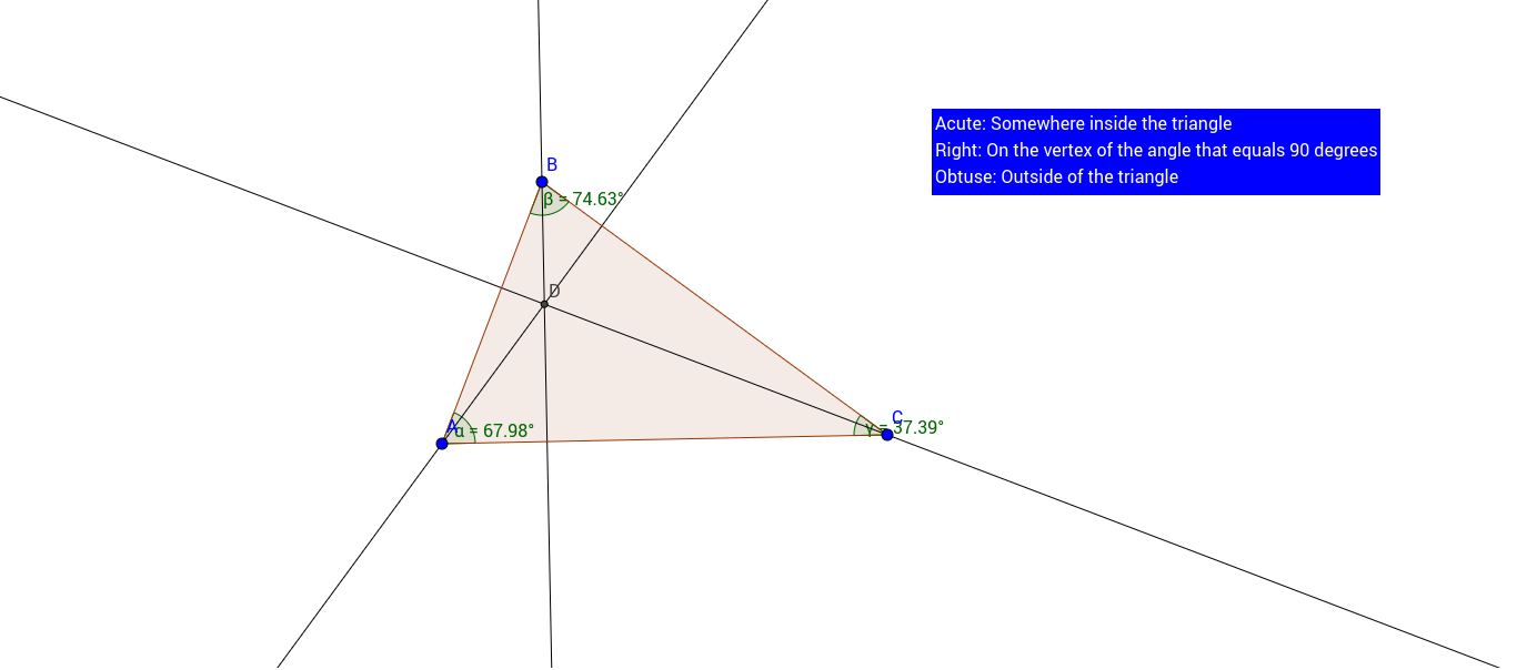 worksheet Special Segments In Triangles Worksheet special segment of a triangle altitude geogebra