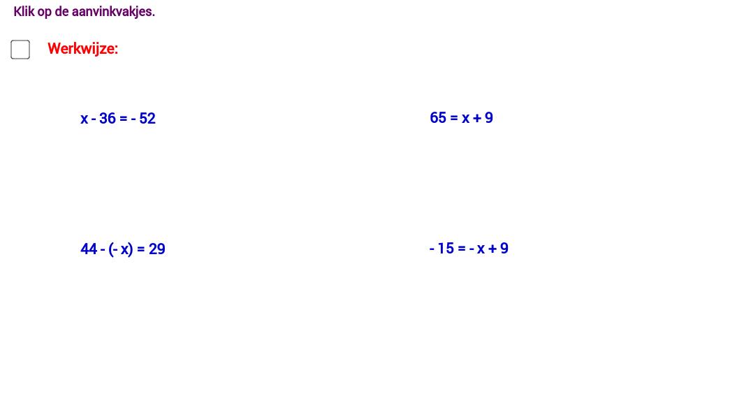 Matrix 1 - Getallenleer - 17 a
