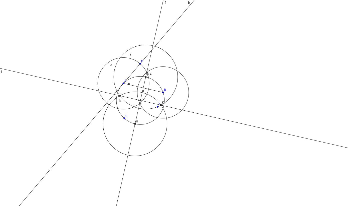 Center of a Circle