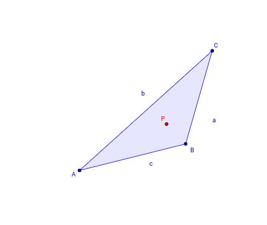 Merkwürdige Punkte im Dreieck erkennen